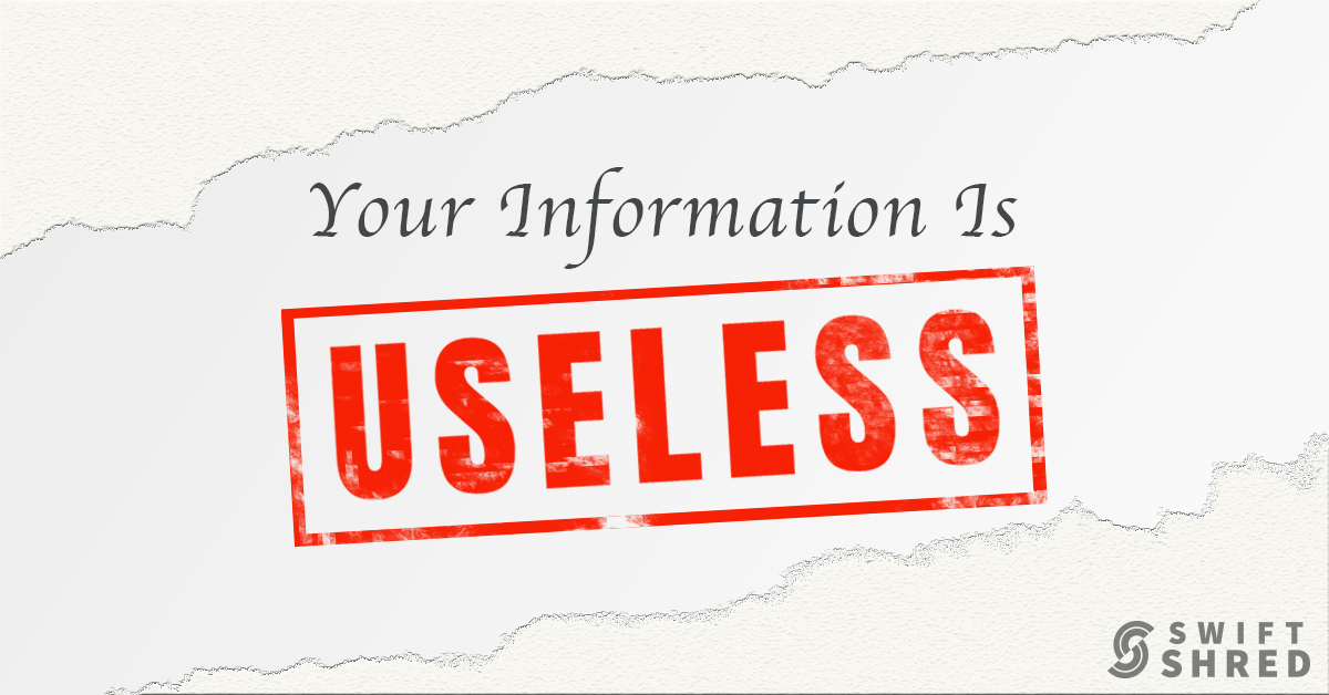 Your Information Is Useless